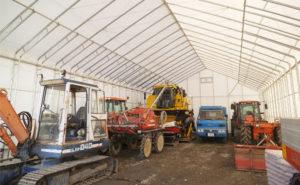 大型ビニールハウス 農業用パイプ倉庫