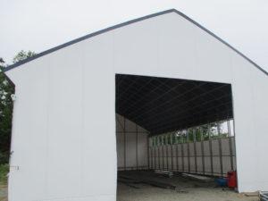 パイプハウス 大型パイプ倉庫