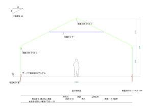 倉庫 サンプル図面 通り矩形図