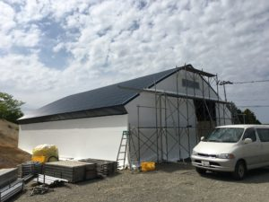 パイプ倉庫 農業用 厚真3