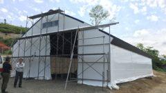 パイプ倉庫 農業用 厚真1