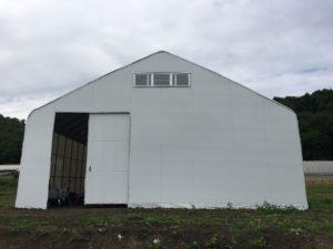 D型ハウス代用 農業用倉庫