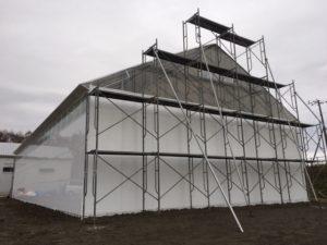 農業用大型格納庫