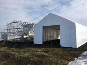 深川 耐雪型 ビニールハウス