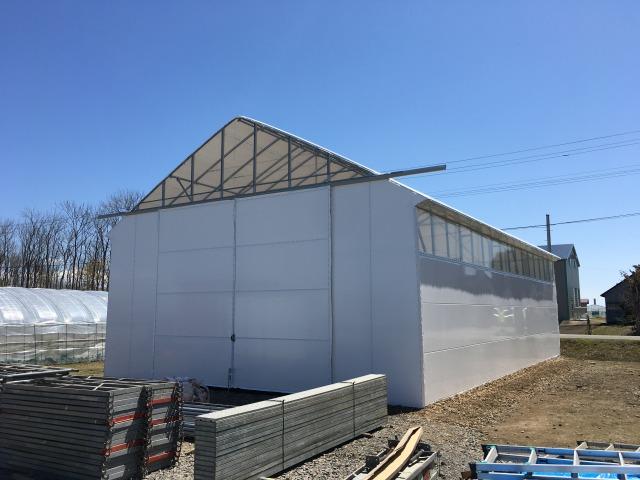 農業用ハウス倉庫 大型パイプ倉庫