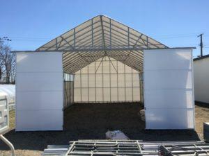 農業用ハウス倉庫 D型ハウス代用